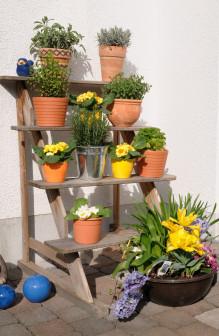 Blumentreppe Bauanleitung