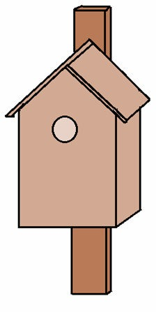 nistkasten bauanleitung zum selber bauen. Black Bedroom Furniture Sets. Home Design Ideas